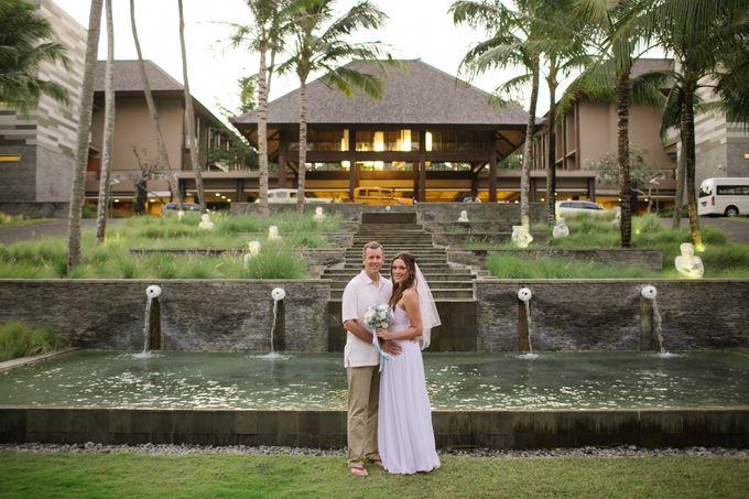 WEDDING OF OLGA & BRETT by Courtyard by Marriott Bali Nusa Dua - 016