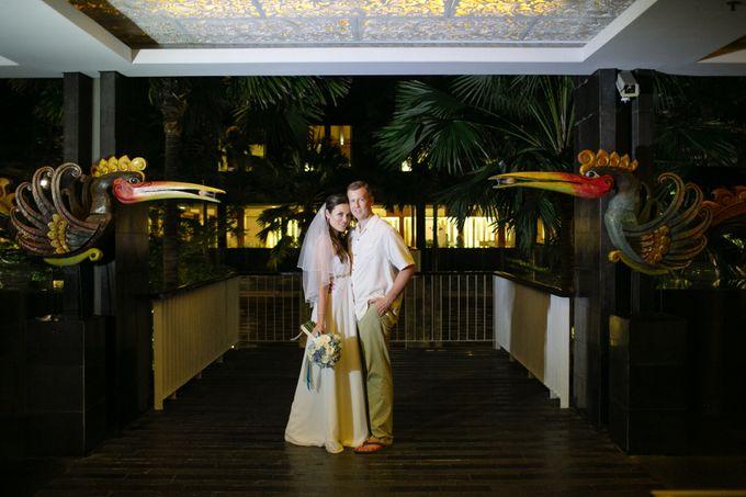 WEDDING OF OLGA & BRETT by Courtyard by Marriott Bali Nusa Dua - 020