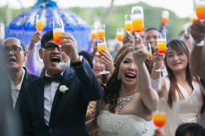 WEDDING OF YUKIE & RICHARD by Courtyard by Marriott Bali Nusa Dua - 024