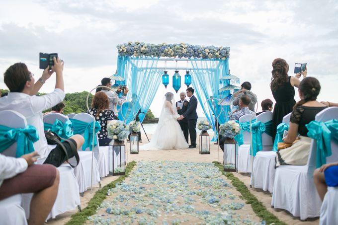 WEDDING OF YUKIE & RICHARD by Courtyard by Marriott Bali Nusa Dua - 026