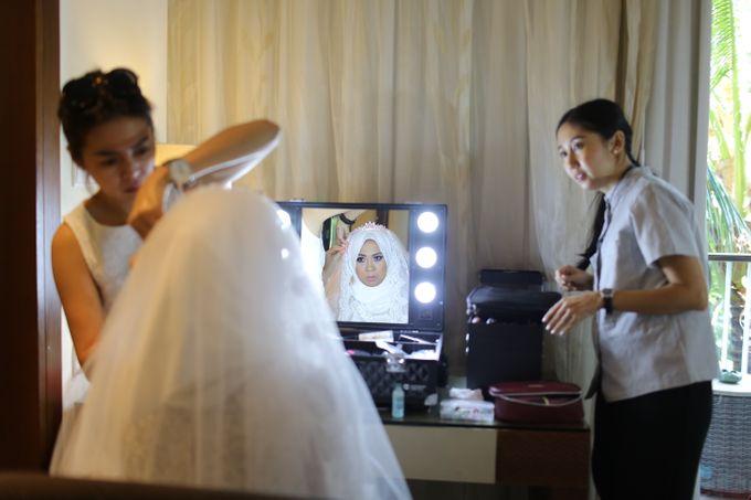 WEDDING OF EMYLIA & AHMED by Courtyard by Marriott Bali Nusa Dua - 026