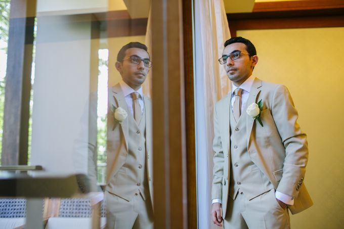 WEDDING OF EMYLIA & AHMED by Courtyard by Marriott Bali Nusa Dua - 013