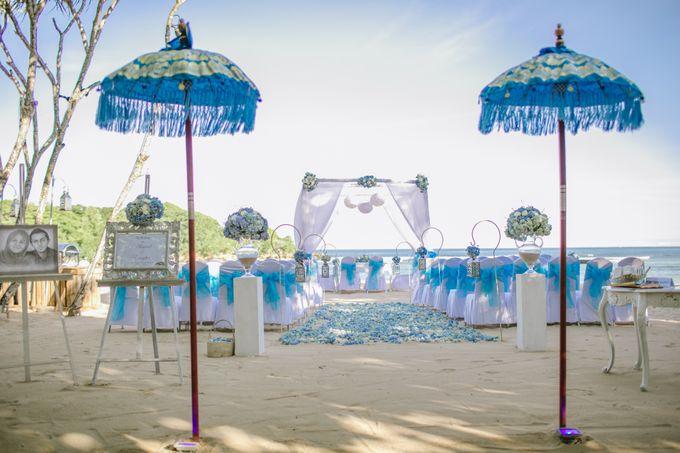 WEDDING OF EMYLIA & AHMED by Courtyard by Marriott Bali Nusa Dua - 001
