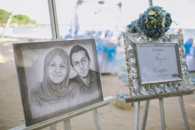 WEDDING OF EMYLIA & AHMED by Courtyard by Marriott Bali Nusa Dua - 010