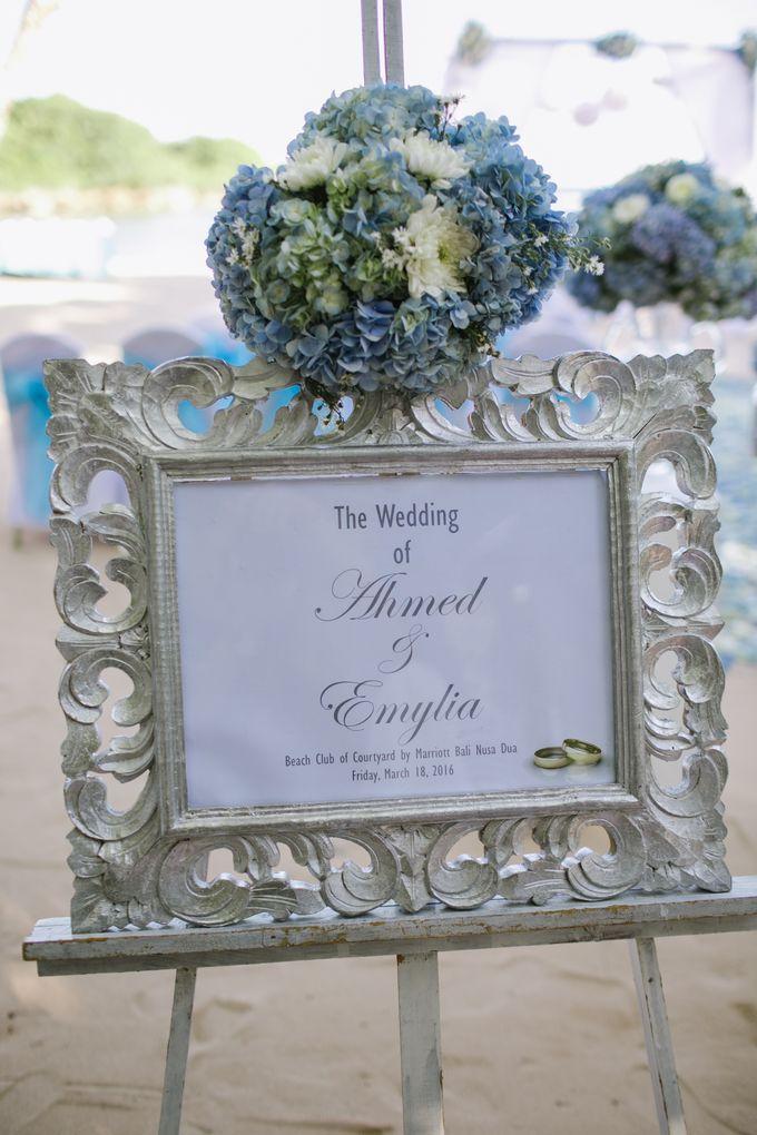 WEDDING OF EMYLIA & AHMED by Courtyard by Marriott Bali Nusa Dua - 017