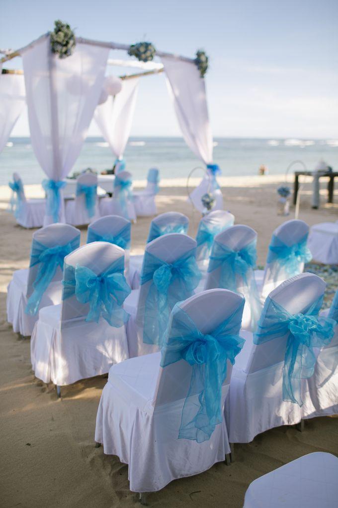 WEDDING OF EMYLIA & AHMED by Courtyard by Marriott Bali Nusa Dua - 005