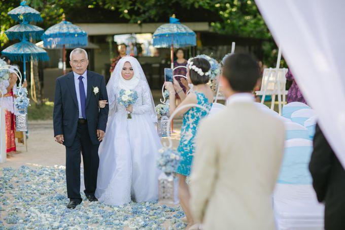 WEDDING OF EMYLIA & AHMED by Courtyard by Marriott Bali Nusa Dua - 014