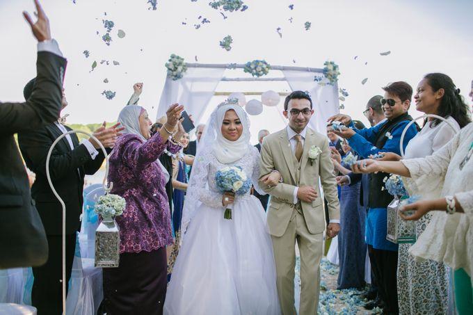 WEDDING OF EMYLIA & AHMED by Courtyard by Marriott Bali Nusa Dua - 015