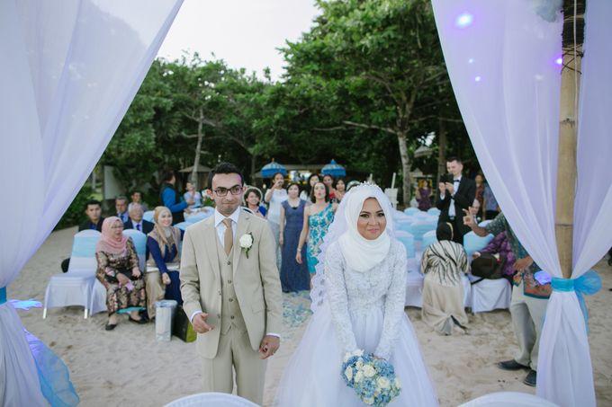 WEDDING OF EMYLIA & AHMED by Courtyard by Marriott Bali Nusa Dua - 002
