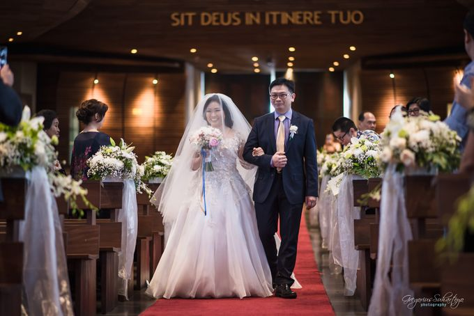 THE WEDDING OF HENDY AND RIEKE by JS Wedding Planner Organizer and Entertainment - 019