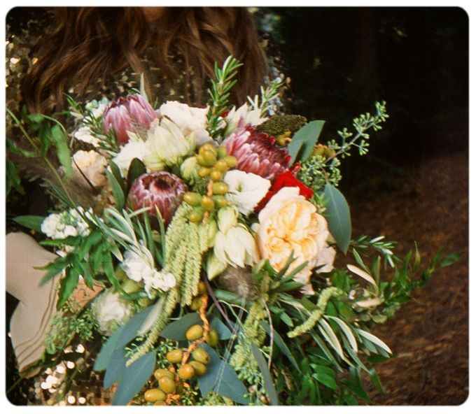 Wedding in the forest of the Santa Cruz Mountains by Stereo Photo Album - 009