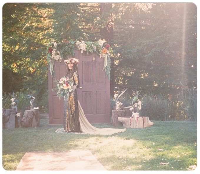 Wedding in the forest of the Santa Cruz Mountains by Stereo Photo Album - 007