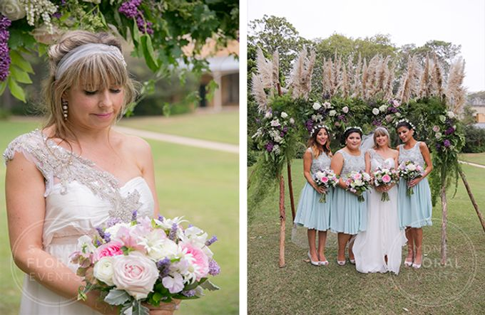 Erina & Daniel by Sydney Floral Events - 001