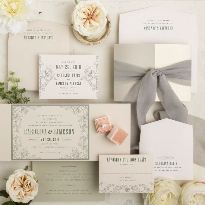 New Wedding Designs - Release C by Paper Pressed  - 001
