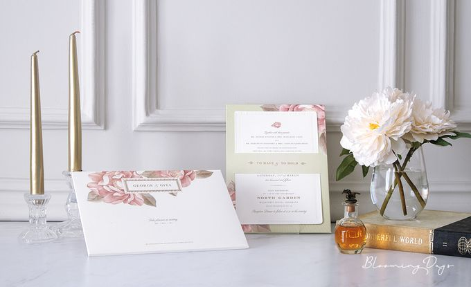 ROMANTIC GARDEN by BloomingDays Invitation Studio - 001