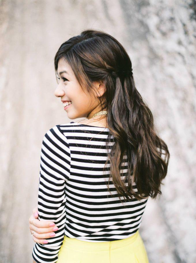 Caught on Film - Waterfall Braids by TangYong Hair & Makeup - 004