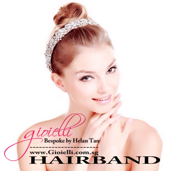Wedding Accessories by Helan Tan by Gioielli Bridal Accessories & Crystal Bouquets - 006