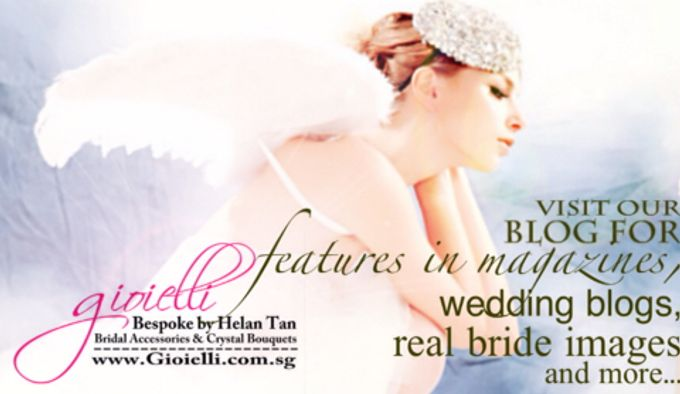 Wedding Accessories by Helan Tan by Gioielli Bridal Accessories & Crystal Bouquets - 015