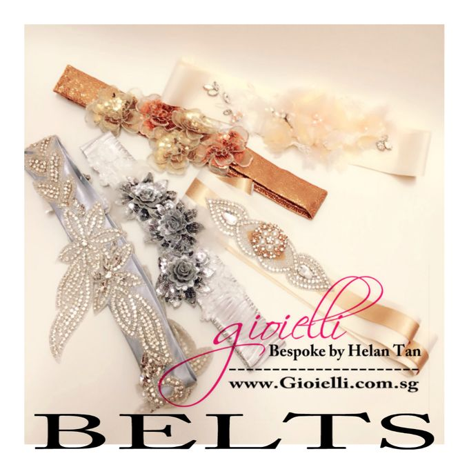 Wedding Accessories by Helan Tan by Gioielli Bridal Accessories & Crystal Bouquets - 010