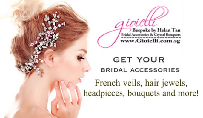 Wedding Accessories by Helan Tan by Gioielli Bridal Accessories & Crystal Bouquets - 014