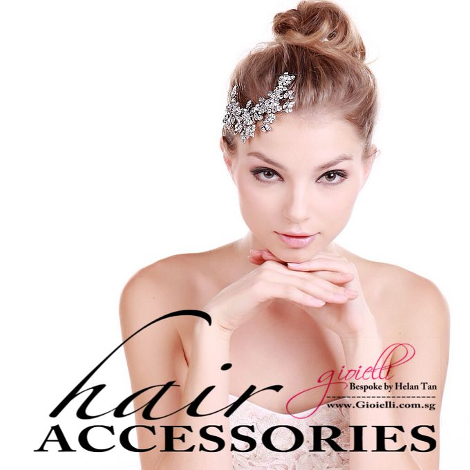Wedding Accessories by Helan Tan by Gioielli Bridal Accessories & Crystal Bouquets - 004