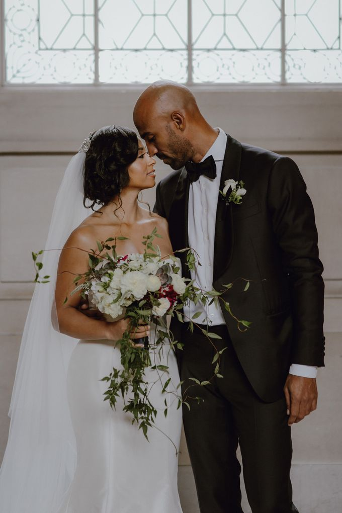 Iconic City Hall Wedding by Tamara J Events - 003