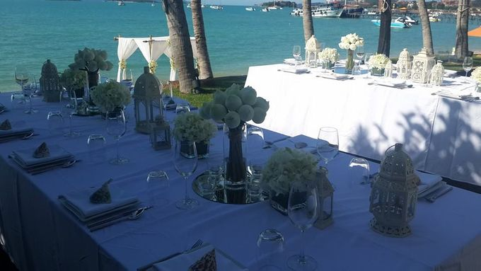 Beach Wedding in Luxury Beach Villa by Go Samui Catering - 001