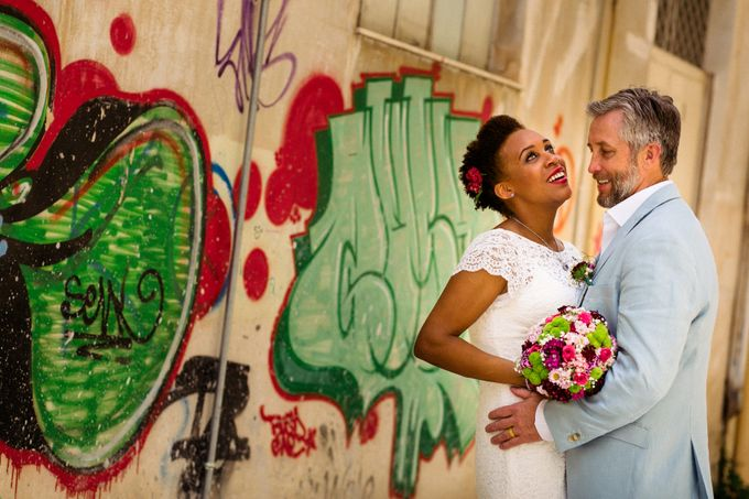 Civil Afro American wedding in Nafplio by MarrymeinGreece - 037