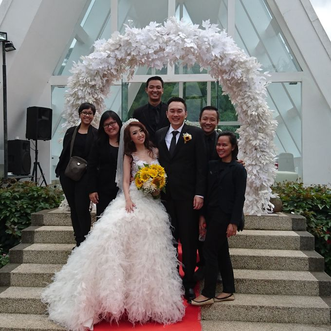 Holy Matrimony of Amory and Ria at Green Forest Resort Bandung by Sparkling Organizer - 038