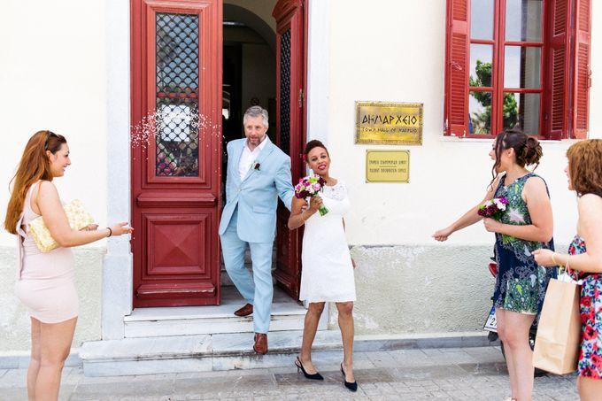 An Afro American wedding in Greece by MarrymeinGreece - 042