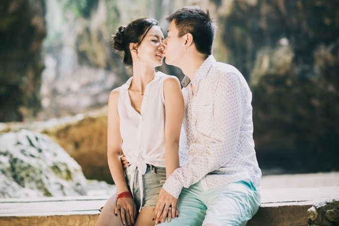 Han & Liam Pre-Wedding by Pixeldust Wedding Photography - 012