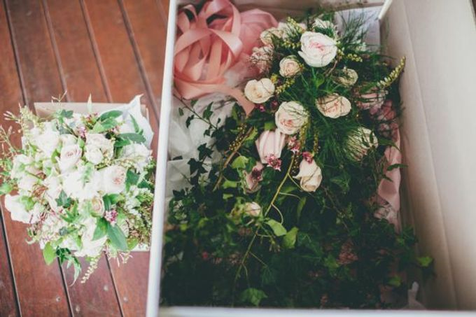 A french inspired intimate wedding by Ginger Lily & Rose Floral Studio - 001