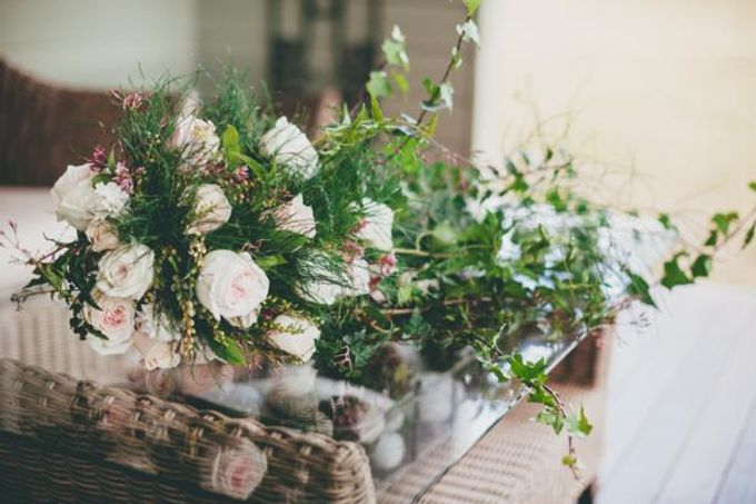 A french inspired intimate wedding by Ginger Lily & Rose Floral Studio - 002