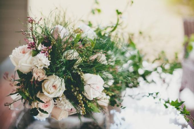 A french inspired intimate wedding by Ginger Lily & Rose Floral Studio - 003