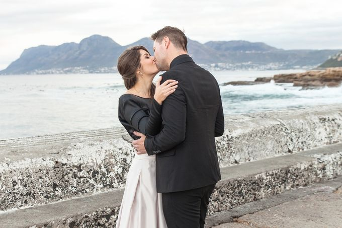 Black & Gold Winter Wedding Chic by Leanne Love Photography - 048