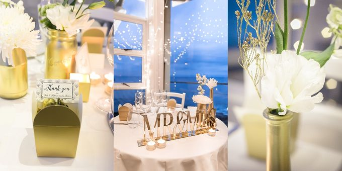 Black & Gold Winter Wedding Chic by Leanne Love Photography - 004