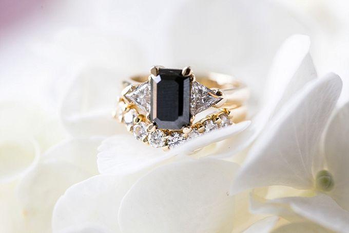 Black & Gold Winter Wedding Chic by Leanne Love Photography - 010
