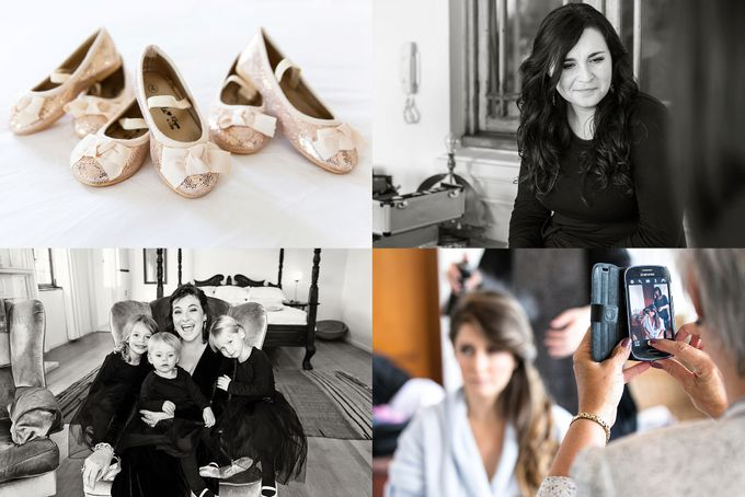 Black & Gold Winter Wedding Chic by Leanne Love Photography - 011