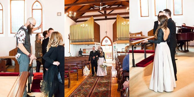 Black & Gold Winter Wedding Chic by Leanne Love Photography - 024