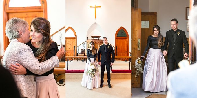 Black & Gold Winter Wedding Chic by Leanne Love Photography - 028