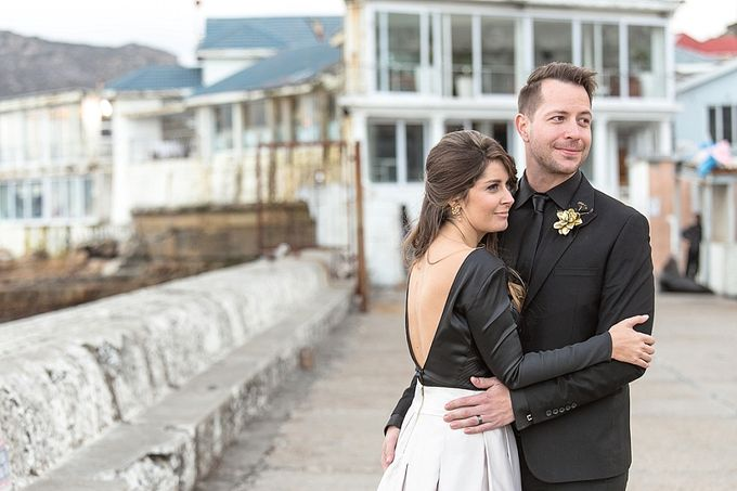 Black & Gold Winter Wedding Chic by Leanne Love Photography - 029