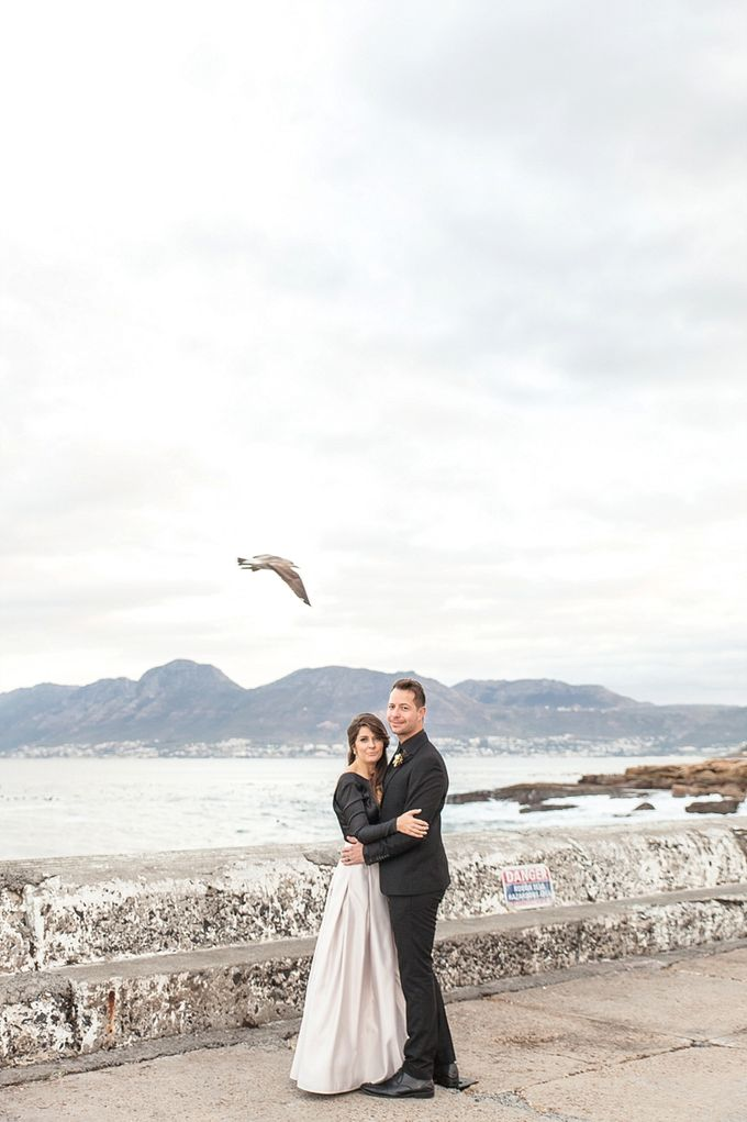 Black & Gold Winter Wedding Chic by Leanne Love Photography - 033
