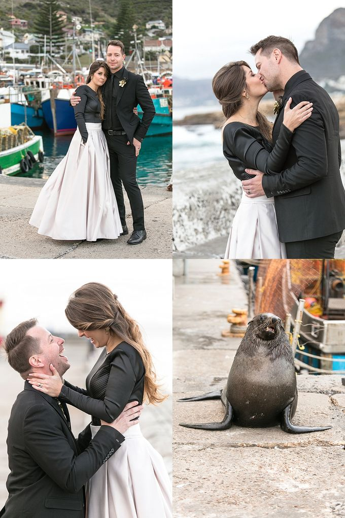 Black & Gold Winter Wedding Chic by Leanne Love Photography - 037