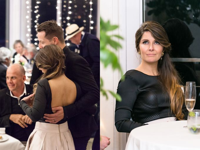 Black & Gold Winter Wedding Chic by Leanne Love Photography - 043