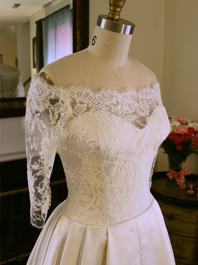 Vintage inspired wedding gown by Desiree Spice - 004