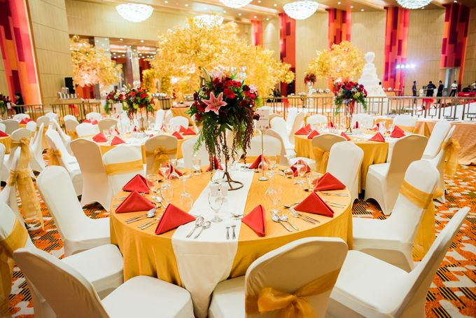 Wedding at Magnolia Grand Ballroom by Grand Mercure Jakarta Kemayoran - 004