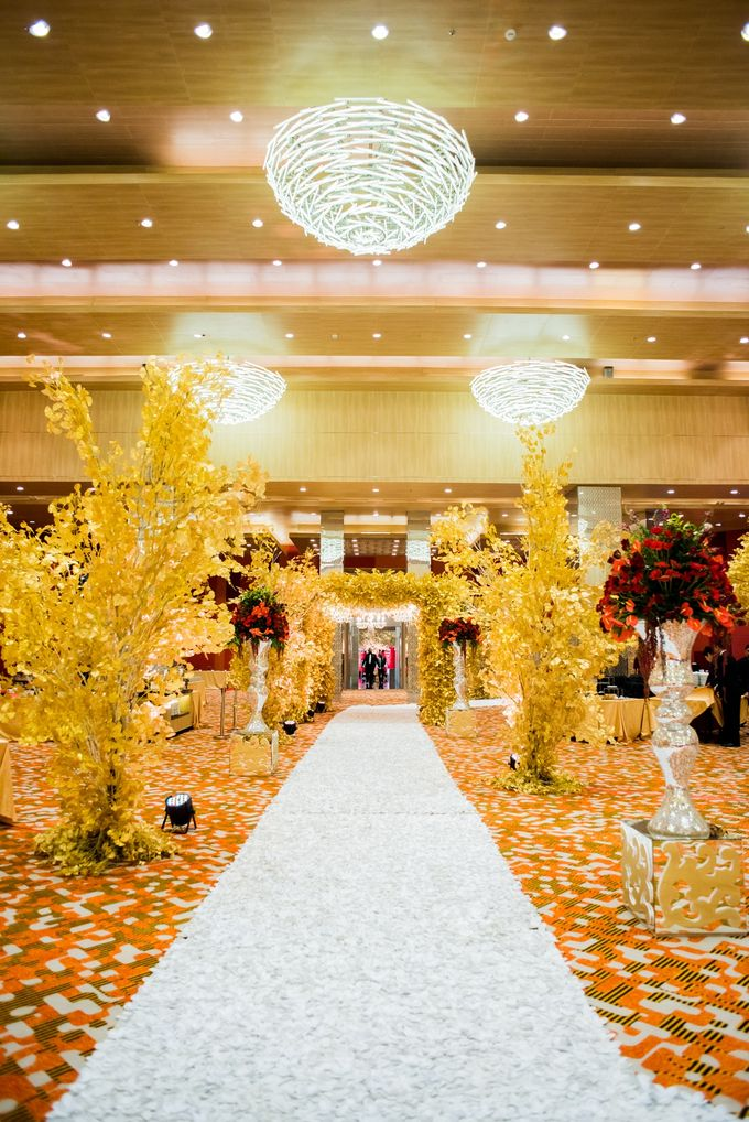 Wedding at Magnolia Grand Ballroom by Grand Mercure Jakarta Kemayoran - 005
