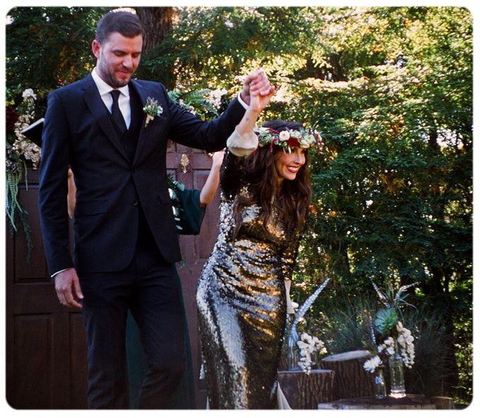 Wedding in the forest of the Santa Cruz Mountains by Stereo Photo Album - 006