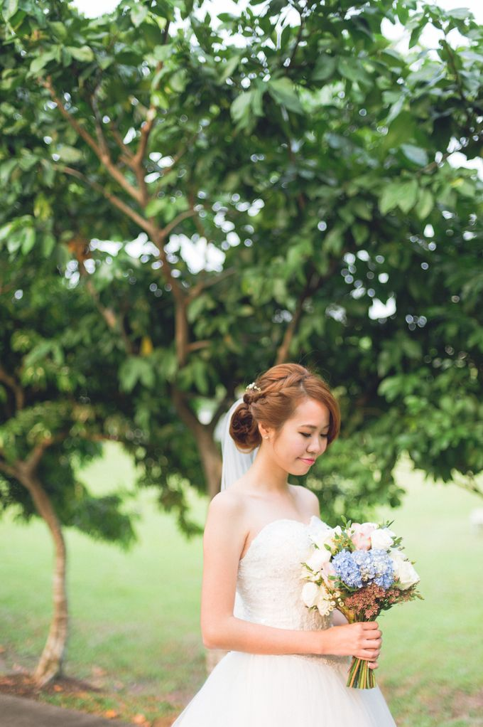 Dreamy and Romantic Outdoor Solemnisation by With Every - 001