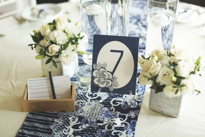 Wedding of Jamie & Liana by Rosette Designs & Co - 005